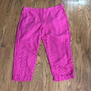 Eyelet Capris from Crown and Ivy